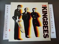 THE KINGBEES THE BIG ROCK 1ST PRESS WLP PROMO 1981 LP RS-1-3097