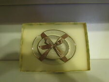 LENOX CARVED VANITY DISHES SET OF 2 NEW GREAT GIFTABLES NIB