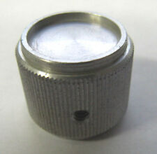 Aluminum Knurled Radio Receiver Amplifier Electronic Knobs