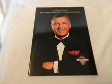 Frank Sinatra's Diamond Jubilee World Tour Souvenir Book by Chivas Regal 1990