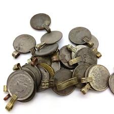 "25 Medium Belly Dance Coins Kuchi Tribal Fusion ATS Vintage Coin .88"" DIY Supply"