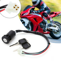 Ignition Key Switch Lock 4 Wires For Motorcycle Motor Scooters Motorcycle FE