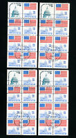 US Stamps # 1623B VF Used lot of 4 Scott Value $70.00