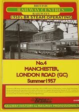 MANCHESTER RAILWAY HISTORY - London Road Station Steam Rail 1957 Timetable Train