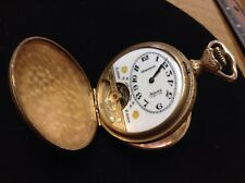 Antique Hebdomas Swiss Made 15 Jewel 8 Day Pocket Watch