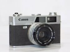 Canon Canonet  QL25 Rangefinder Film camera w/ Canon SE 45mm 1:2.5 Lens As Is