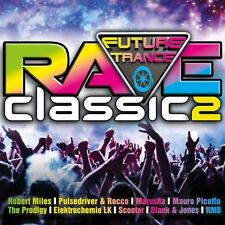 FUTURE TRANCE-RAVE CLASSICS 2 (ROBERT MILES,SCOOTER,THE PRODIGY,...)  3 CD NEW!