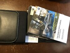 2016 BMW X5 EDRIVE HYBRID OWNERS MANUAL SET WITH CASE