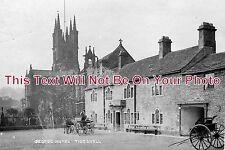 DR 303 - George Hotel, St Johns Church, Tideswell, Derbyshire - 6x4 Photo