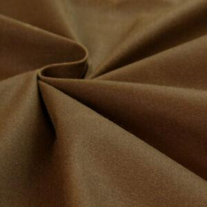 Oilskin gewachste Baumwolle | braun