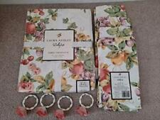 Laura Ashley Matching Cotton Tablecloth, 4 Napkins and 4 Napkin Rings