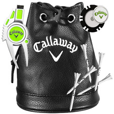 CALLAWAY VIP GOLFERS GIFT SET / INCLUDES POUCH, DIVOT TOOL , BALL MARKER & TEES