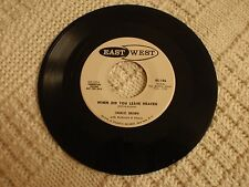 CHARLES BROWN WHEN DID YOU LEAVE HEAVEN/A LOT IN COMMON EAST WEST 106 PROMO  M-