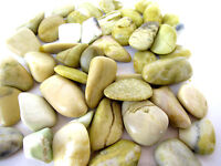 Serpentine Tumbled Stone CHUNKY 25-35mm QTY3 Healing Crystal Kundalini Brain
