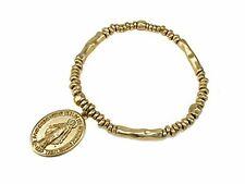 St Pray For Us Catholic Re. 4031660 Blessed Virgin Mary Stretch Bracelet Saint