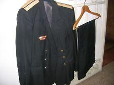 URSS MARINA DEL BALTICO: giacca, pantaloni e giubbetto.