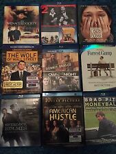 BLU RAY 11 Movie Lot Drama Films Forrest Gump, Menace II Society, Moneyball MORE