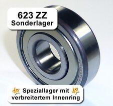 Radiales Rillen-Kugellager 623ZZ - 3,1x10x4,3, Da=10mm, Di=3,1mm, Breite=4,3mm