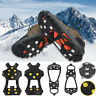 Cleats Anti-Slip Boot Shoes Covers Studded Traction Spike Crampons Snow Ice USA