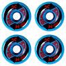 4 x H-STREET ARROW - SKATEBOARD WHEELS - NOS - BLUE/AZUL - 57MM 95A - ARROWS
