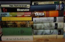 50 Hardcover Romane Bücher-Paket Konvolut Sammlung Romane usw