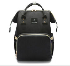 Mummy Maternity Baby Diaper Bag Backpack With USB interface, Stroller hook