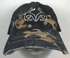 Browning Realtree Camo Mesh Black Baseball Hat Cap Hunting Back Trucker Snapback