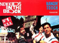 "12"" - New Kids On The Block - Hangin' (HIP HOP) SPANISH EDIT. 1989 *MINT * NUEVO"