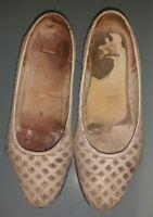 décolleté traforate avorio  scarpe donna 35 usate moltissimo suoletta macchiata