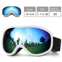 Unisex Polarized Ski Goggles Anti-fog Snow Goggle UV400 Protection Double Lens