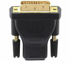 SANDSTROM AV Black Series HDMI to DVI Adapter Gold-plated connector - RRP=£14.99