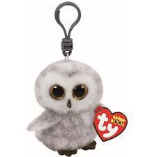 Ty beanie babies 35020 boos owlette the owl boo key clip