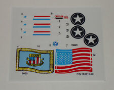 GI Joe Watch Tower Sticker Decal Sheet