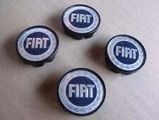 Fiat 500 F L R 600 Logo Wheel Rim Center Caps Microcar