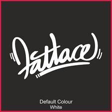 Fatlace Graffiti Decalcomanie x2, auto, vinile, Adesivo, JDM VW VAG Euro, Drift, N2168