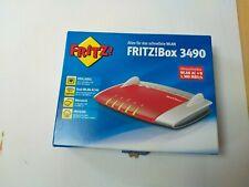 AVM FRITZ!Box 3490 (VDSL-/ADSL2+, Dual-WLAN AC + N mit 1.300 MBit/s (5 GHz) + 45