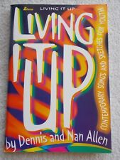 Allen Living it Up Cont Songs Youth Voice Piano Unmarked
