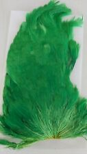 "INDIA SADDLE "" HEN SADDLE #1 ""   GREEN    Fly Tying Wet Flies"