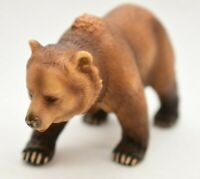 """SCHLEICH Grizzly BEAR Brown Bear 2003 D-73527 Germany 4"""" Long"""