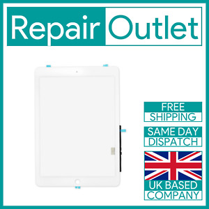 OEM 2018 iPad 6th A1893 A1954 White Touch Screen Digitizer Replacement UK Stock