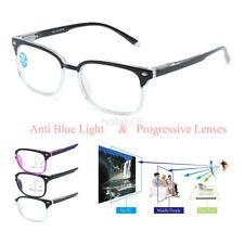 Fashion Progressive Reading Glasses Plastic Frame Spectacle +1.00 +1.50 to +3.00