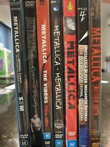 METALLICA DVD lot