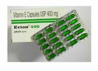 50x Evion 400 Vitamin E Capsules by MERCK Face Hair Skin Nails ANTIOXIDANT
