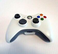 Microsoft Xbox 360 Wireless White Controller