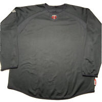 Majestic Men's Size Large Minnesota Twins Therma Base Warm Up Long Sleeve Shirt