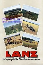 Traktor Lanz XL Reklame 1941 Werbung Landmaschinen