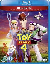 Disney Pixar Toy Story 4 3D and 2D BLU-RAY Combo