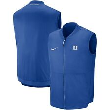 Men's Nike Royal Duke Blue Devils College Vest Jacket Medium M NWT $120