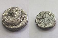 480 - 350 Bc Silver Thrace Hemidrachm Ancient Greese coins