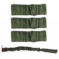 3Pcs Green Large Gun Sock Cover Silicone Treated Hunting Rifle Shotgun Cover Bag